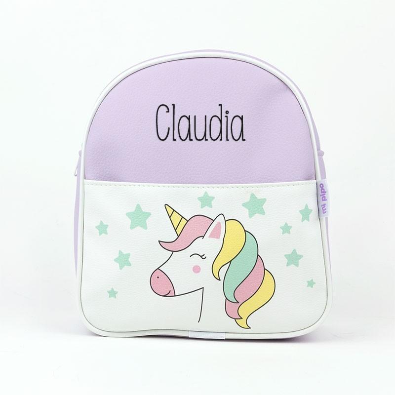 Mochila Unicornio personalizada