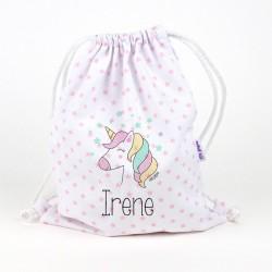 Petate Unicornio personalizada