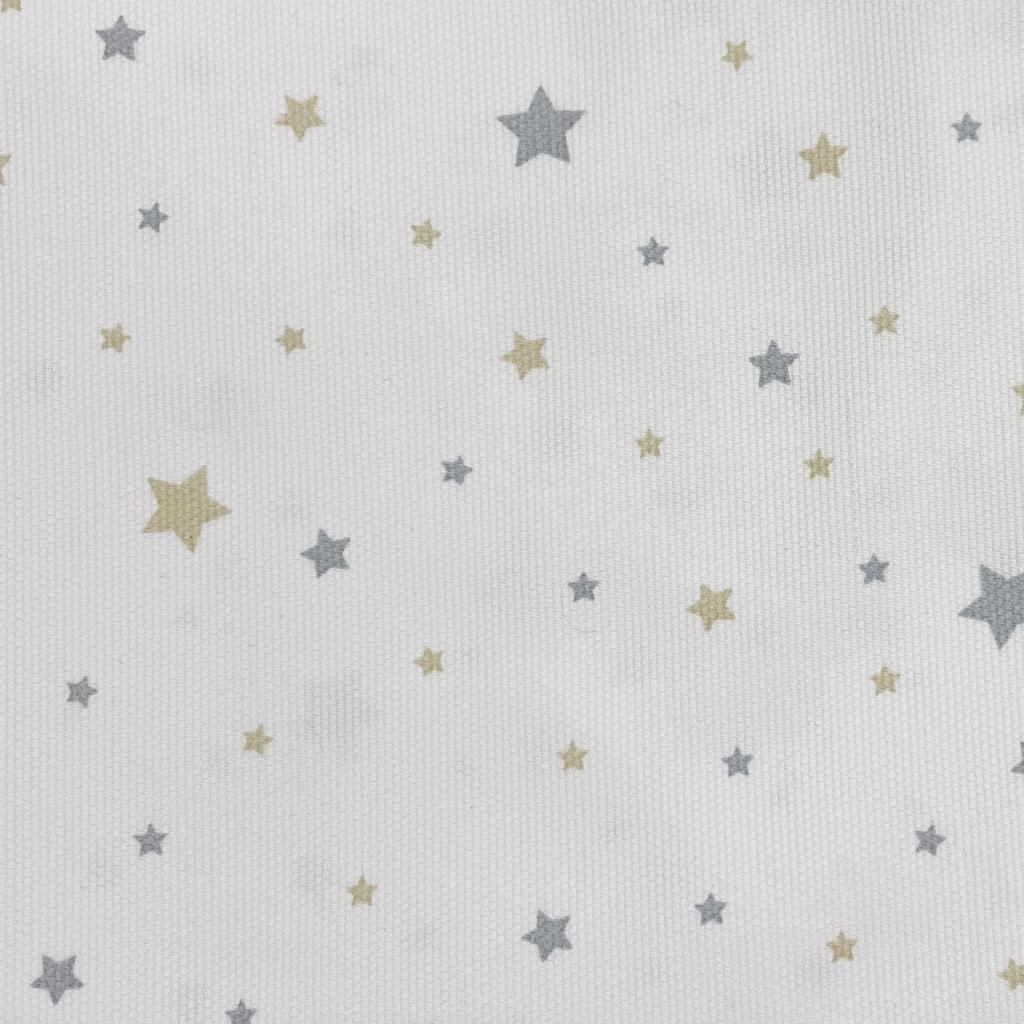 Estrellas azule y beige